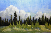 Rod Gould   March Clouds 24x36